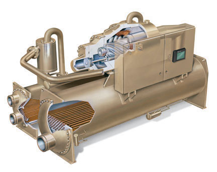 Rthd Optimus Water Cooled Chiller Water Cooled
